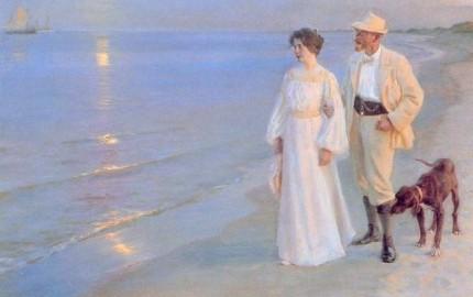 sommeraften_paa_skagen_strand_1899