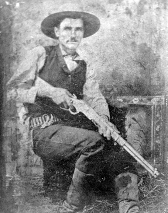 Her er den ægte Bill Dalton, kort før han kom til at stå i den forkerte ende af et gevær