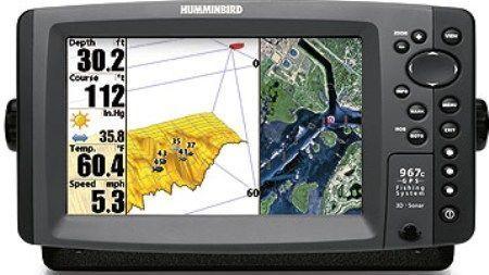 Her er Humminbird's bud på lidt lystfisker-elektronik, men det bliver bedre endnu ...